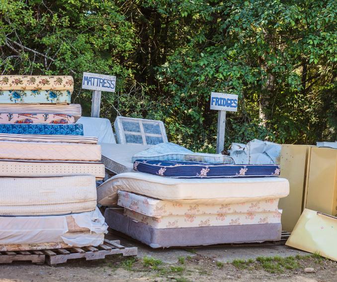 Eugene mattress removal